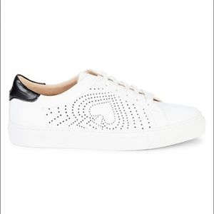 NWOB Kate Spade Ashlyn white leather sneakers